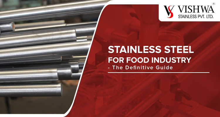 Stainless steel for food industry