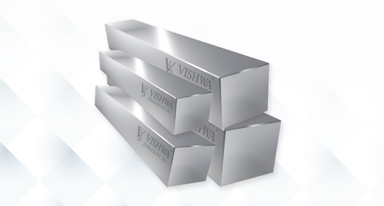 stainless steel Bright square bar Quality Control at VIshwa Stainless Steel