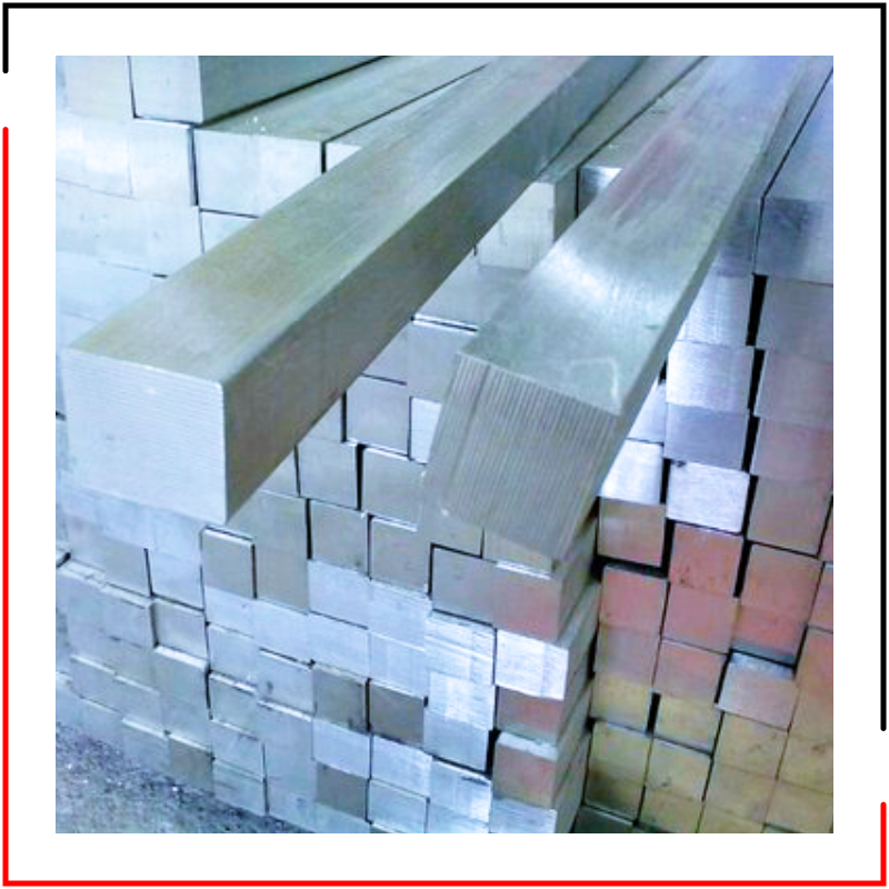 Stainless Steel Bright Square Bars Manufacturer -
